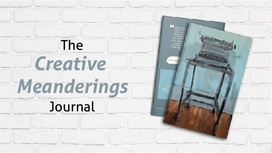 Creative Meanderings Journal Promo for website