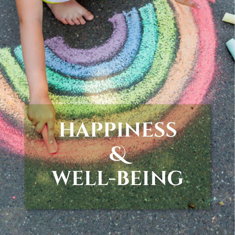 HAPPINESS and WELLBEING image Journal Pairings page