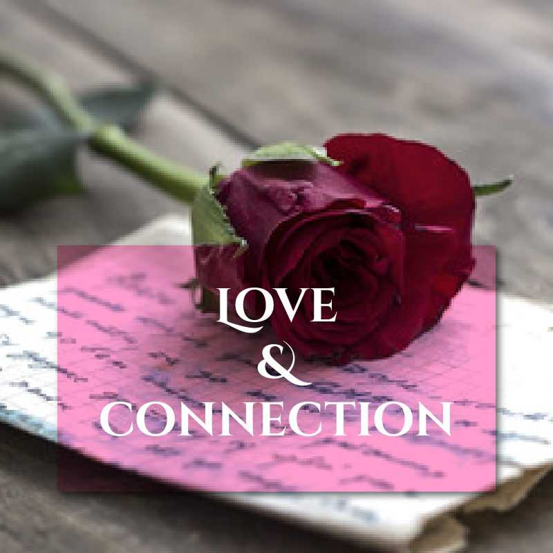 LOVE and CONNECTION image Journal Pairings page
