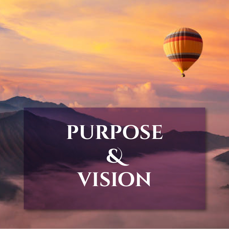 PURPOSE and VISION image Journal Pairings page